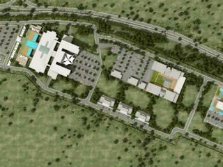 ms mimarlık – Cezayir Hastane Kompleksi Atlas Group:  tarz Hastaneler, Modern
