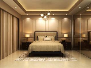 Dormitorios de estilo moderno de De Panache Moderno