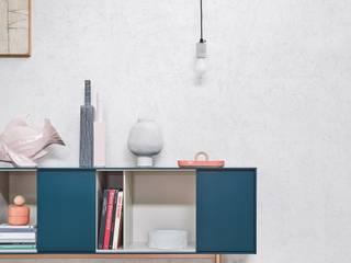 Minimalistische Wohnzimmer von L&M design di Marelli Cinzia Minimalistisch