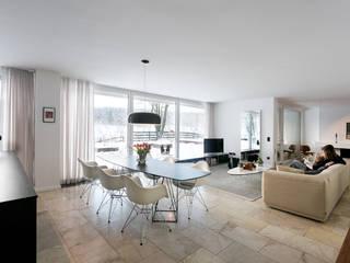 Sanierung einer Fabrikantenvilla stanke interiordesign Moderne Esszimmer
