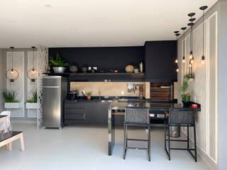 Dapur Gaya Eklektik Oleh D'Sapê - Arquitetura e Interiores Eklektik
