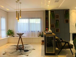 Salon original par D'Sapê - Arquitetura e Interiores Éclectique