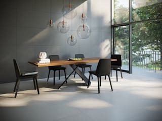 Modern dining room by Interceramic MX Modern
