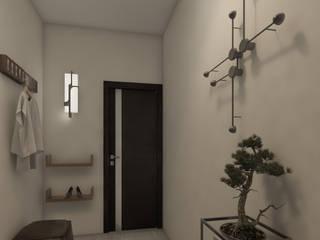 Pasillos y vestíbulos de estilo  por Arkiline Arquitectura Optativa, Moderno