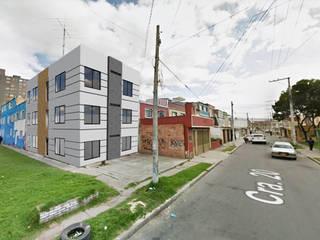 MULTIFAMILIAR RAMIREZ: Casas multifamiliares de estilo  por FENIXARQ., Minimalista