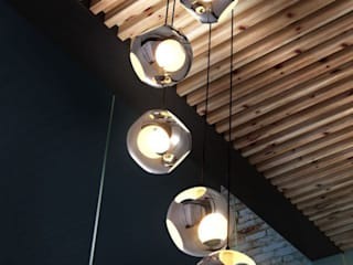 Varios proyectos de decoración y diseño de interiores Balcones y terrazas modernos de Palmira design Moderno