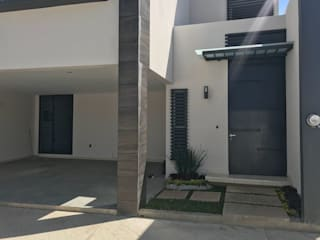 Ideas Arquitectónicas Modern houses Concrete White