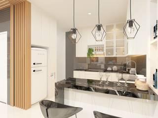 Interior Design KG House TEKART. Dapur built in