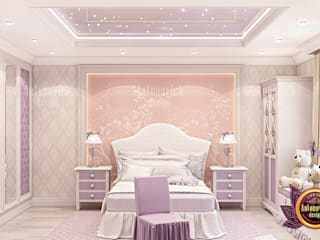 Lovely Princess Bedroom Design with Gorgeous Furniture:   by Luxury Antonovich Design,