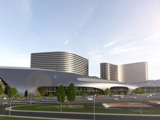 Malatya Shopping Mall NõodDesignContract Modern