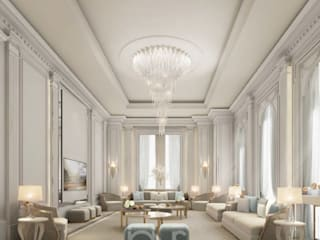 Interior Designing Idea for Beautiful Living Room IONS DESIGN Living room Marble White