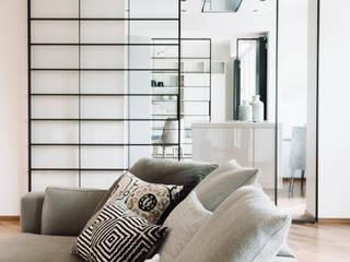 Lucia Bentivogli Architetto 现代客厅設計點子、靈感 & 圖片
