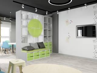 Административный офис компании Yota Рабочий кабинет в стиле лофт от Дизайн-студия 'ExclusivE project' Лофт