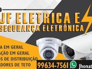 JF Eletrica Escritórios industriais por JF Eletricista e Segurança Eletrônica Industrial