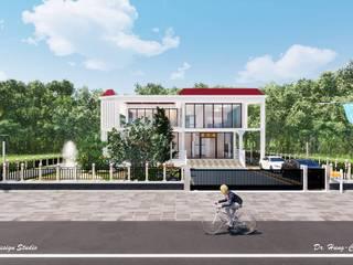 太陽能藝術別墅 Solar Art Villa 根據 盧博士虛擬實境設計工坊 現代風