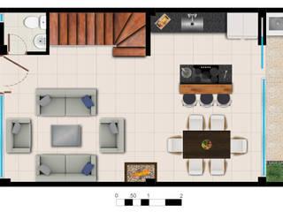 Reserva el Lago Cocinas modernas de PLASS Arquitectura & Construcción Moderno