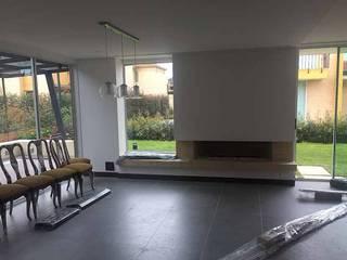 Casa Club del comercio Salas modernas de PLASS Arquitectura & Construcción Moderno