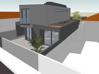 Moradia Estamparia de Lavadores: Habitações multifamiliares  por Diogo Assunção Arquitecto,Moderno