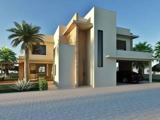 Residência Emirados Árabes Unidos Casas modernas por Marcos Baldasso Arquitetura Moderno