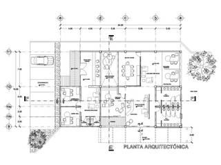 Minimalist dining room by Arquitecto Pablo Edel Cruz Minimalist