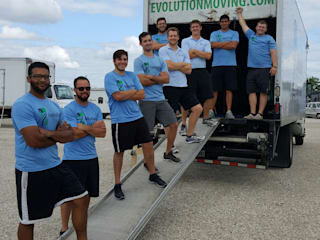Evolution Moving Company New Braunfels:  Offices & stores by Evolution Moving Company New Braunfels, Modern