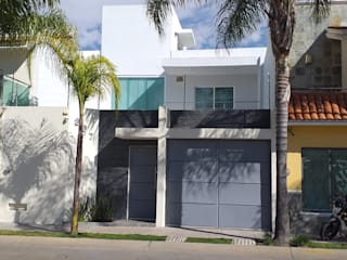 Terraza Escobedo: Casas de estilo  por PV Arquitectura,