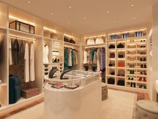 Modern dressing room by Alpha Details Modern