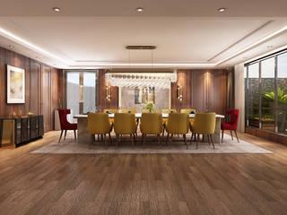Sala de Jantar - vivenda em Sintra Alpha Details Salas de jantar clássicas