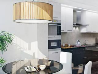 Apartments in the Residential Complex Zarechny:  Kitchen by ARCHEVISTA DESIGN,Modern