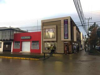 TIENDA PORVENIR: Centros Comerciales de estilo  por ARQUITECTURA NATALES, Moderno