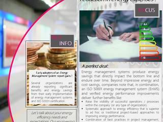 KNOW MORE - save energy & spend less Estudios y oficinas clásicos de ONO-INDUSTRIAL [Estudio Profesional] Clásico