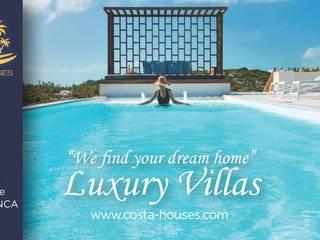 COSTA HOUSES · Luxury Real Estate   Tu Inmobiliaria en Javea y Costa Blanca España COSTA HOUSES Luxury Villas S.L · Exclusive Real Estate in Javea COSTA BLANCA Spain Villas Hormigón Azul
