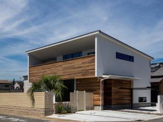 海が見える家 田中洋平建築設計事務所 モダンな 家