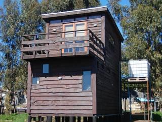 Cabaña/Taller Repalet / Horcon Chile de crog Rústico
