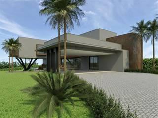 Residência P|M Casas modernas por Marcos Baldasso Arquitetura Moderno