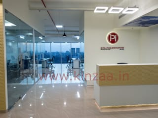 Commercial and Residential Interiors: modern  by KINZAA Architects and Interior designers,Modern