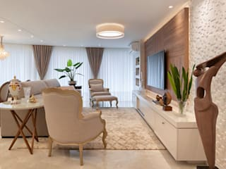Living room by G'S Arquitetura&Interiores, Classic