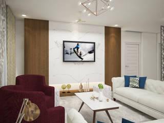 Ruang Keluarga Modern Oleh INDREM DESIGNS Modern