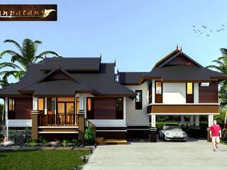 แบบบ้านชั้นเดียวยกพื้นไทยประยุกต์ BP09 โดย บริษัทบ้านป่าตาล