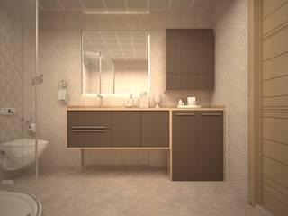 Mekgrup İç Mimari ve Dekorasyon – Banyo Tasarımı ve Uygulaması: modern tarz , Modern