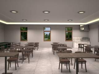 Camii Dinlenme ve Sohbet Odası Sosyal Alan Tasarımı Mekgrup İç Mimari ve Dekorasyon Klasik