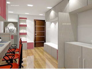 Interior Modern offices & stores by INTERIO MAKER Modern