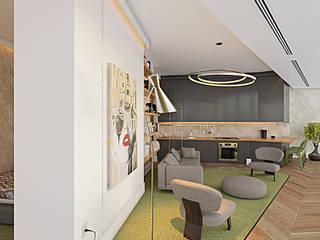 Modern Living Room by NõodDesignContract Modern
