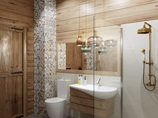 Modern Bathroom by Anastasia Yakovleva design studio Modern