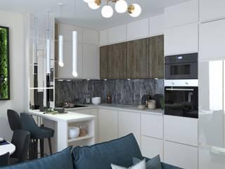 Kitchen units by Anastasia Yakovleva design studio, Minimalist