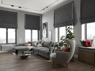 Scandinavian style living room by 'INTSTYLE' Scandinavian
