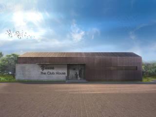 OCA/Mimarlık – //The Club House:  tarz Ofisler ve Mağazalar, Modern