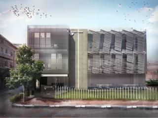 OCA/Mimarlık – //Likom Ankara Ofisi:  tarz Ofis Alanları, Modern