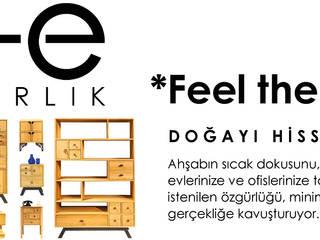 rustic  by Este Mimarlık Tasarım Uygulama San. ve Tic. Ltd. Şti., Rustic