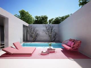 La Suite perfecta para tus vacaciones: Terrazas de estilo  de S-AART, Minimalista